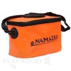 Кан-сумка ПВХ складной рыболовный Namazu с окном