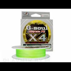 Плетёный шнур YGK G-Soul Upgrade X4 150м, светло-зелёный