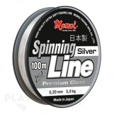 Леска монофильная Momoi Spinning line silver 100м