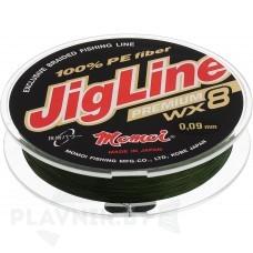 Плетёный шнур JigLine Premium WX8 100 м 0.12-0,35