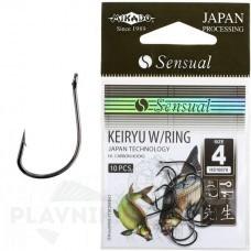 Крючки SENSUAL KEIRYU W/RING