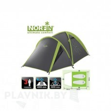 Палатка трёхместная Norfin CARP 2+1 ALU NF