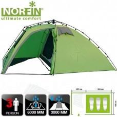 Палатка автомат трёхместная Norfin PELED 3 NF