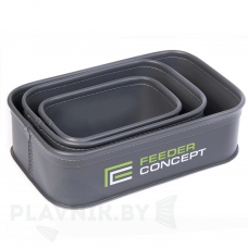 Набор ёмкостей для прикормки и насадки Feeder Concept EVA 3шт