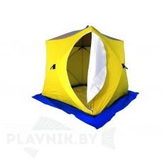 Палатка зимняя СТЭК КУБ 3 трехслойная, дышащая