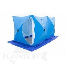Палатка зимняя СТЭК КУБ 3 ДУБЛЬ трехслойная, дышащая