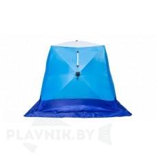 Палатка зимняя СТЭК КУБ 3 LONG трехслойная, дышащая