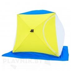 Палатка зимняя СТЭК КУБ 2 трехслойная, дышащая